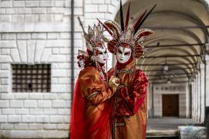Karneval v Benátkách / Carnival in Venice (02/2018)