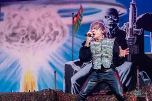 Iron Maiden v Pražských Letňanech (06/2018)