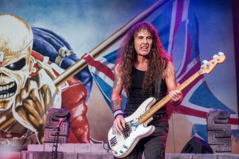 Steve Harris (Iron Maiden) v Praze