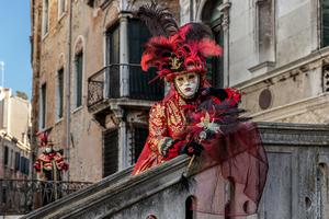 Karneval v Benátkách / Carnival in Venice (02/2020)