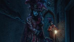 Benátky: Noční karneval