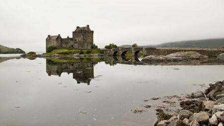 hrad Eilean Donan 7883